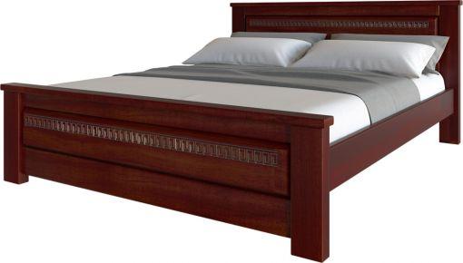 Фото Кровать деревянная «Элит Нью» Дубовый Шпон - sofino.ua