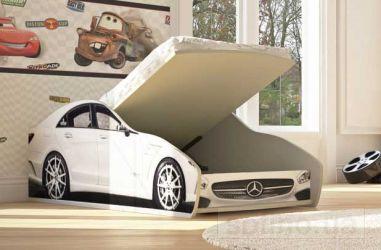 Кровать-машинка с механизмом