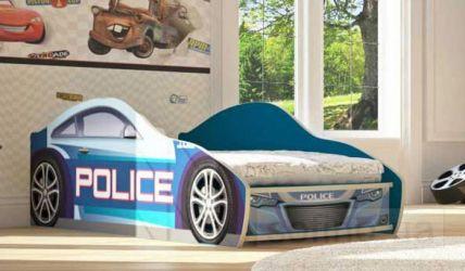 Фото Кровать-машинка «Полиция New» - sofino.ua
