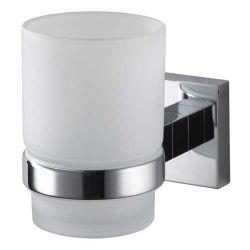 Стакан для зубных щеток одинарный 403002 «Mezzo chrome» HK
