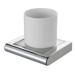 Стакан для зубных щеток одинарный 415402 «Viero» HK