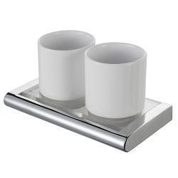 Стакан для зубных щеток двойной 415408 «Viero» HK
