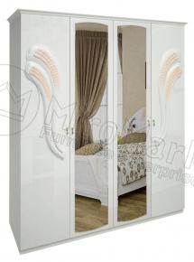 Шкаф 4д «Лола» с зеркалом
