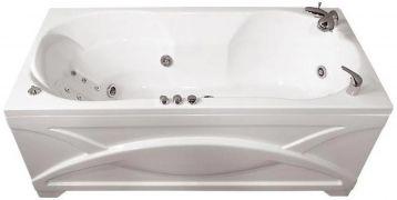 Ванна акриловая «Валери» с гидромассажем   170*85 ТР