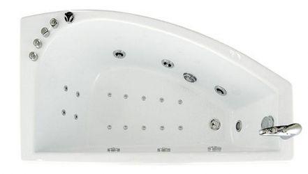 Ванна акриловая «Бэлла» с гидромассажем | 140*75 ТР