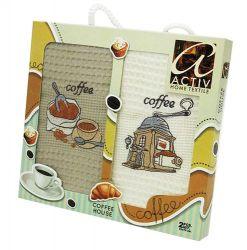 Набор полотенец Activ Coffee 2х50*70