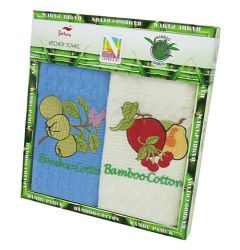 Набор полотенец Nilteks Bamboo-Cotton Fruits 1 2х40*60