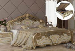 Кровать «Реджина голд» с подъемным механизмом 1,8
