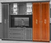 Версаль Шкаф - 1 Каштан