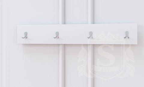 Вішалка Бянко Світ Меблів • 100х2х16 • Білий