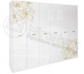 Шкаф 6д «Пиония» без зеркала