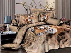 Фото Комплект сатин 3D «Тигр» - sofino.ua