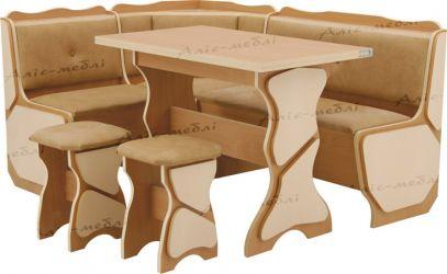 Кухонный уголок «Орфей + стол глух.+ 2Т»