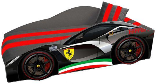 Кровать детская «Элит Е-2   Ferrari Black» 70*150