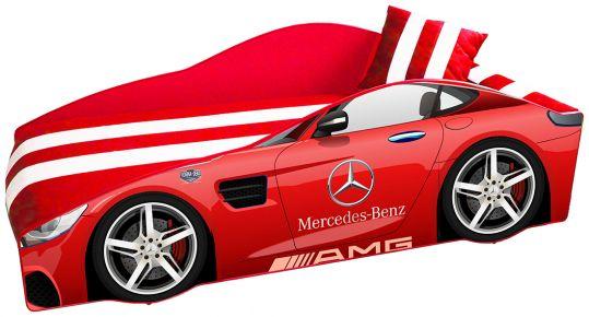 Кровать детская «Элит Е-4 | Mercedes Red» 70*150