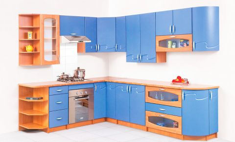 Фото Комплект угловой кухни «Импульс-1» - sofino.ua