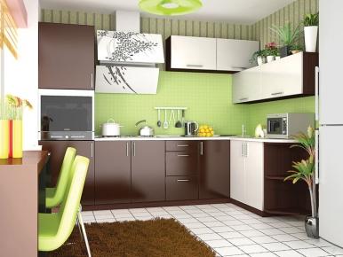 Комплект угловой кухни «Moda-37» 270