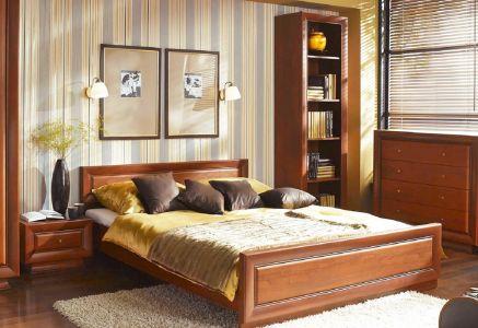 Ліжко для спальні БРВ Ларго Класік Вишня італійська