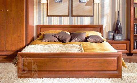 Фото Кровать «Ларго Классик» Вишня итальянская - sofino.ua