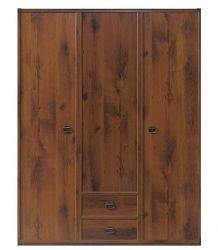 Шкаф платяной JSZF_3d2s/150 «Индиана»