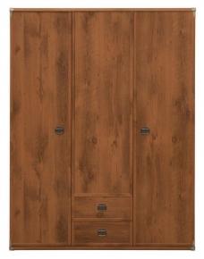 Шкаф платяной 3d2s/150 «Индиана» | Дуб шуттер