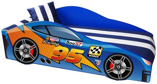 Кровать детская «Элит Е-5   MC Blue» 70*150