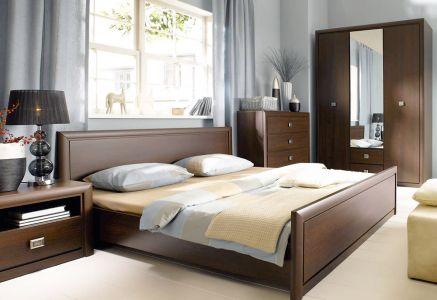 Спальня Коен Гербор ДСП + МДФ (Шафа 3D3S + Комод 4S)