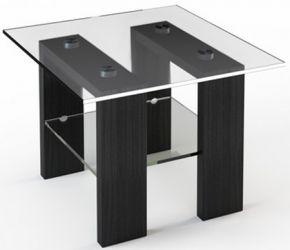 Журнальный стол «JTS 003» 70*70 (Прозрачный)