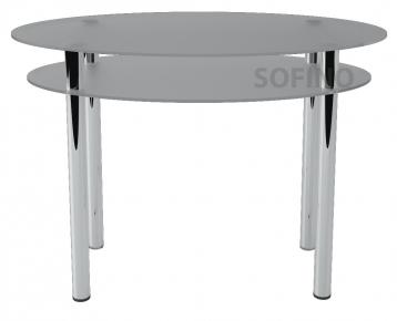 Стол обеденный «O2» 110*65 (Матирование)