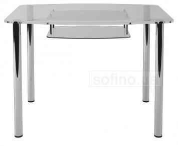 Стол обеденный «S2» 91*61 (Прозрачный)