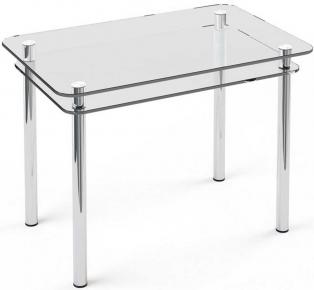Стол обеденный «S5» 91*61 (Прозрачный)
