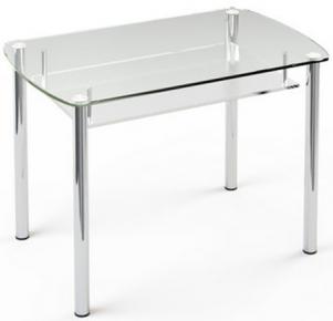 Стол обеденный «S7» 91*61 (Прозрачный)