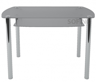 Стол обеденный «S7» 91*61 (Матирование)