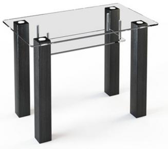 Стол обеденный «SW3» 91*61 (Прозрачный)
