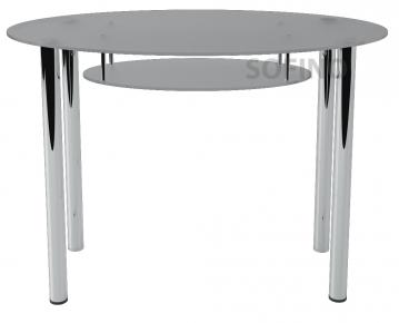 Стол обеденный «О1» 110*65 (Матирование)