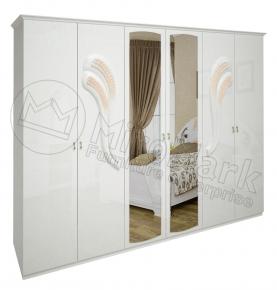 Шкаф 6д «Лола» с зеркалом
