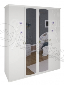 Шкаф 4д «Лулу» с зеркалом
