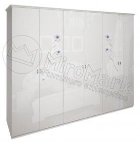 Шкаф 6д «Лулу» без зеркала