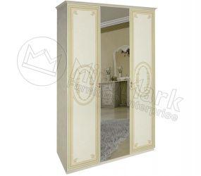 Шкаф 3д «Примула» с зеркалом