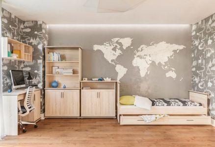 Дитяча спальня «Палермо Дуб Сонома»