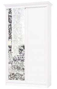 Шкаф купе «Венециано S0031» Белый + 77 вариантов рисунков