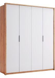 Шафа Міромарк «Асті 4д» 213,2x184,4x58,5 Дуб Крафт + Білий