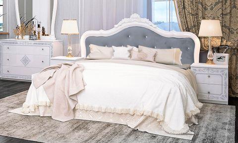 Фото Двуспальная кровать «Луиза без изножья» - sofino.ua