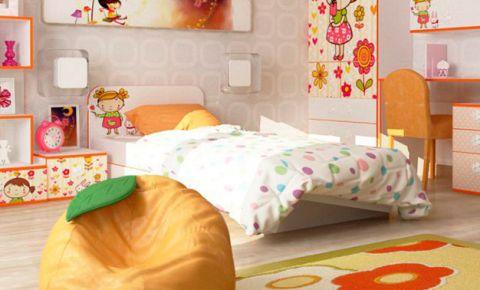 Фото Кровать «Мандаринка» | «Mandarin» - sofino.ua