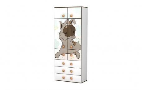 Шкаф для одежды с полками «Джой»