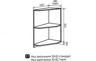 Фото Угол №17 «Wood Line» 28*82 - sofino.ua
