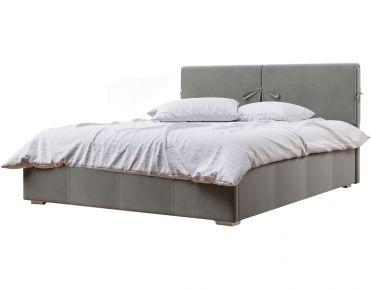Фото Мягкая кровать-подиум «Мари» c подъемным механизмом - sofino.ua