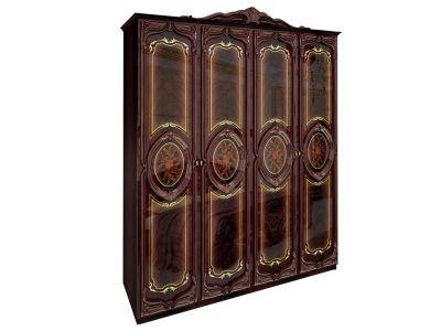 Шкаф 4д «Реджина» без зеркала | Перо рубино