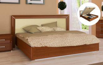 Фото Двуспальная кровать с механизмом «Белла рамка» | Глянец ваниль - sofino.ua