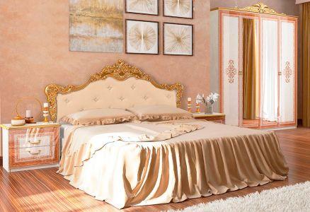 Спальня «Золота Дженіфер Мяка 4Д»